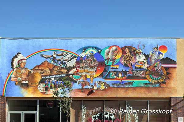 Mural, Route 66, Gallup, NM