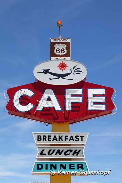 Roadrunner Cafe, Route 66, Gallup, NM