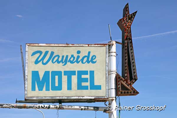 Wayside Motel, Route 66, Grants, NM